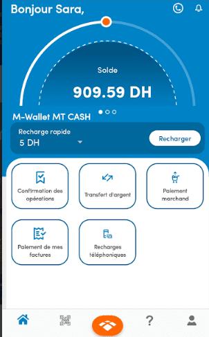 حساب mt cash mobile Money