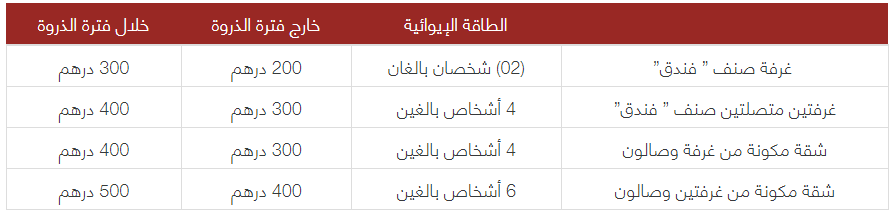 المنتجع السياحي الأول لرجال التعليم مؤسسة محمد السادس